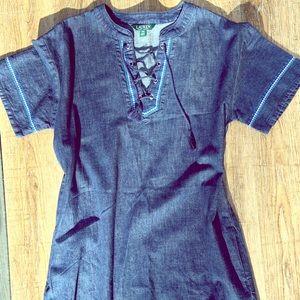 Ralph Lauren Denim Dress Size 12 P